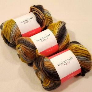 Isaac Mizrahi Craft wool (3 balls)
